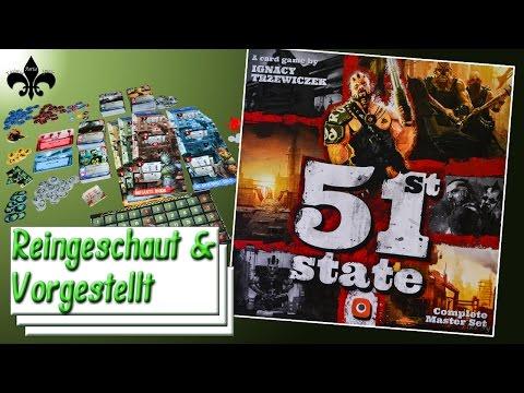 Vorgestellt: 51st State Master Set - Kartenspiel - Portal Games -2016- / GER