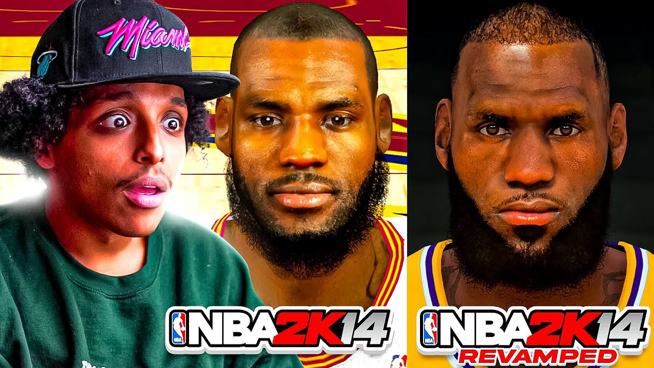 HOW MODS HAVE BROUGH NBA 2K14 BACK TO LIFE (REMASTERED)