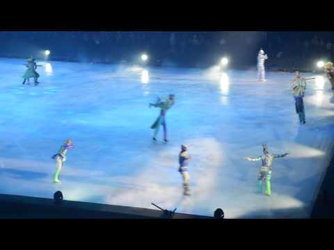Видео: Ледовое шоу Лужники 1