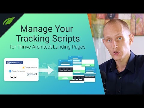 New Feature: Landing Page Script Manager for Thrive Architect