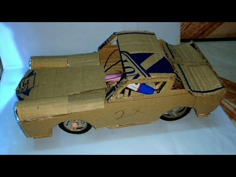 How to make RC car body shell