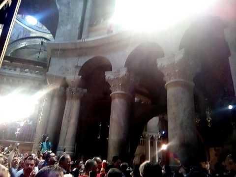 Храм гроба Господня.Пасха 2016.Армяне.Аястан.