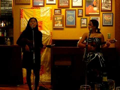 """IZUMI : with  Raiatea  Helm Hawaiian song """"Hui"""