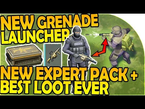 NEW MILKOR MGL GRENADE LAUNCHER, NEW Expert Pack BEST LOOT- Last Day On Earth Survival 1.6.10 Update