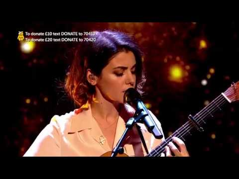 Katie Melua -  Fields of Gold  (Children in Need 2017)