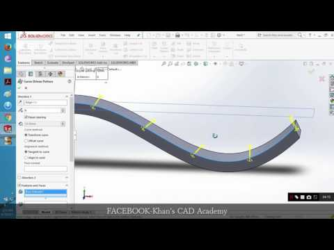Solidworks Curve Driven Pattern