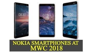 Nokia 8 Sirocco, Nokia 7 Plus and Nokia 6 (2018): First look, specs, features price