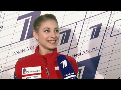 Российские фигуристки по итогам короткой программы заняли весь пьедестал на чемпионате Европы.