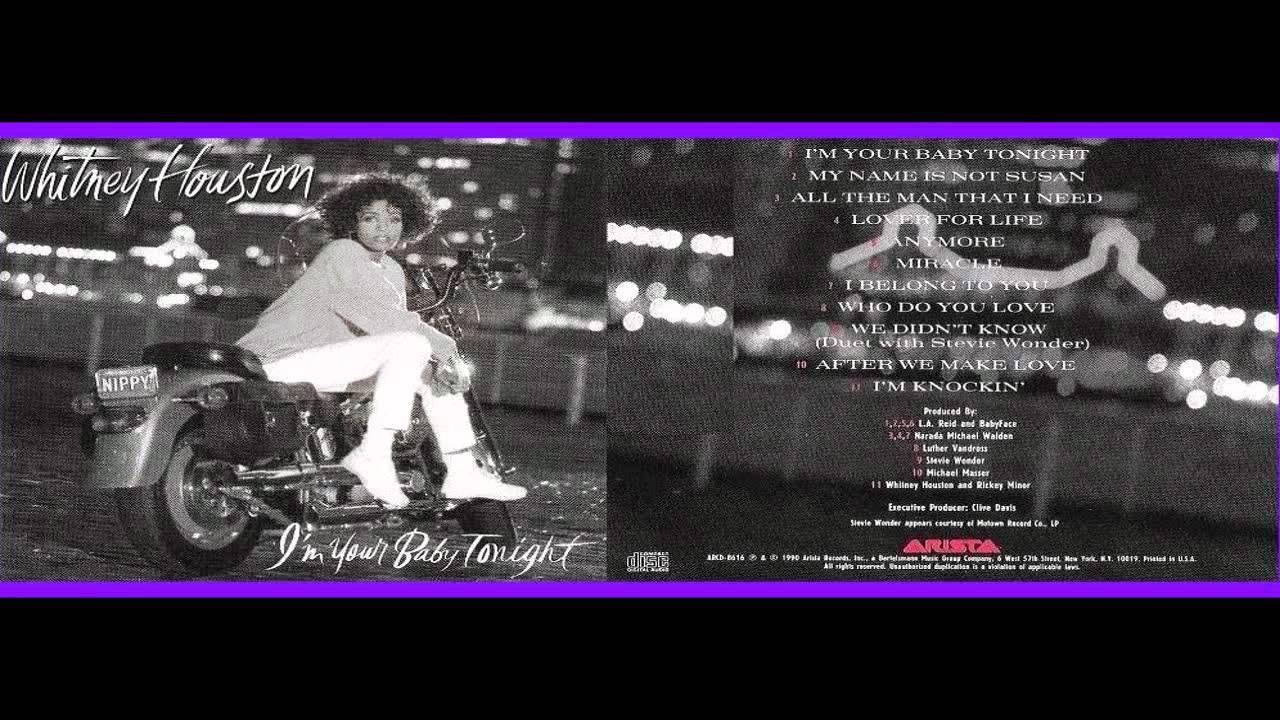 Whitney Houston - I'm Your Baby Tonight …