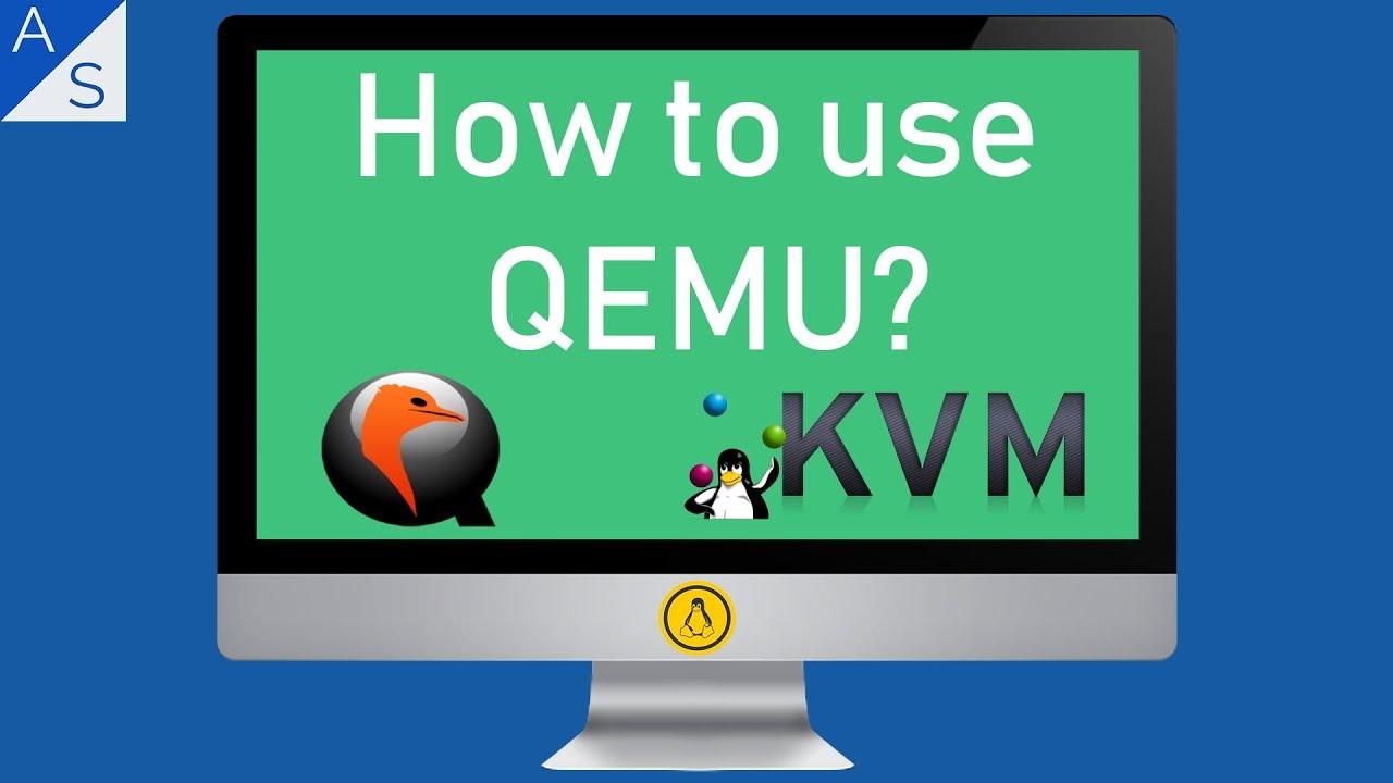 How to use QEMU? - YouTube