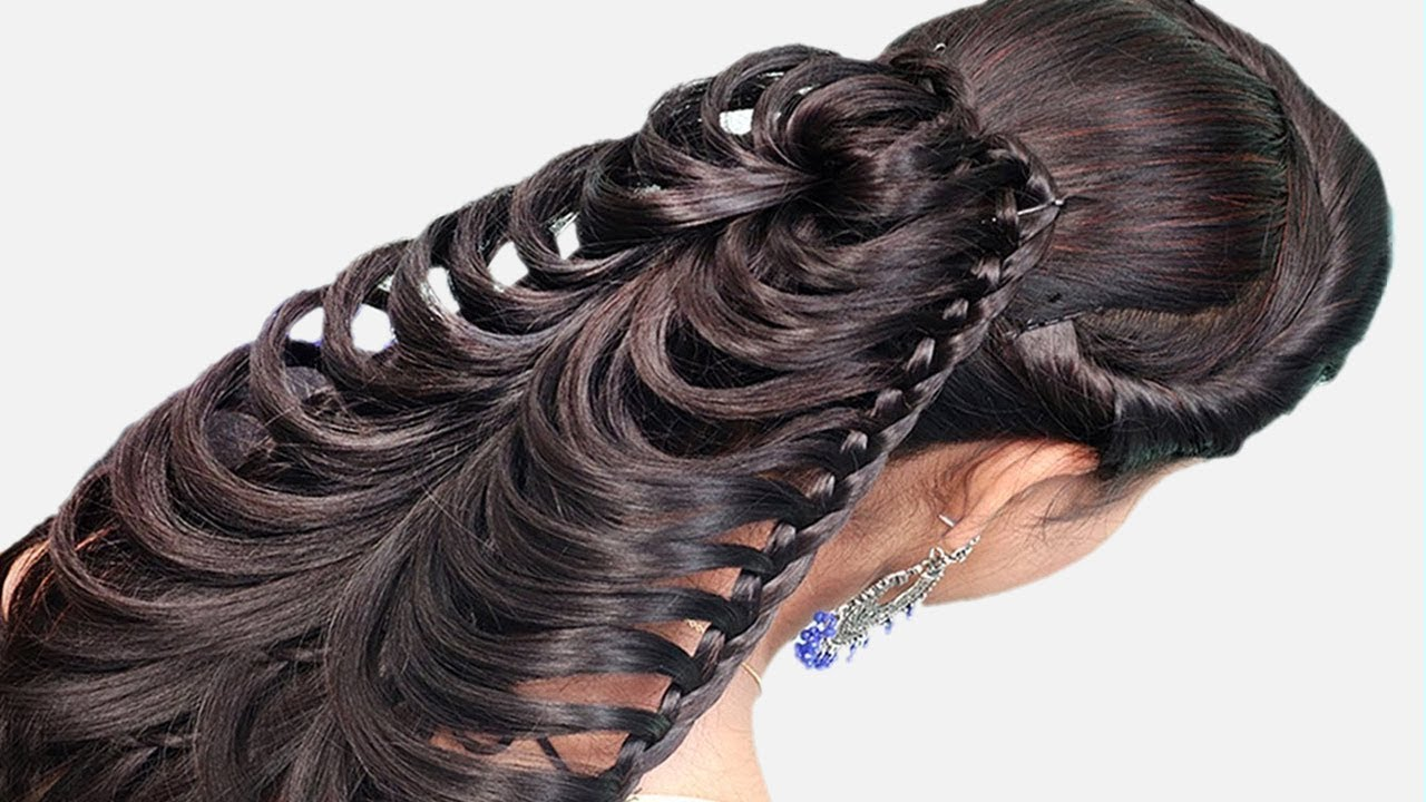 Party Wedding Collage Hairstyles Step By Step Cute Hairstyle For Girls Hairstyles 2019 Youtube