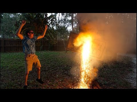 Download Youtube: Thermite - The most Dangerous Paint??