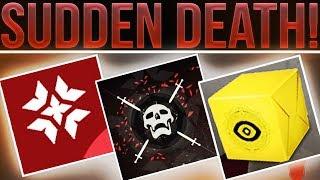 Destiny 2 CRIMSON DAYS CONFIRMED! Sudden Death Game Mode, Doubles PvP, Quests, New Medals & Rewards!
