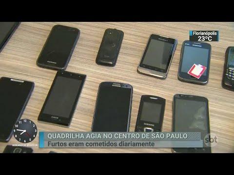 Polícia prende 16 pessoas em São Paulo em operação contra furtos | SBT Brasil (19/04/18)