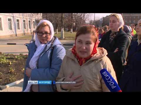 ГТРК Белгород - Белгородцы спешат приложиться к мироточащей иконе