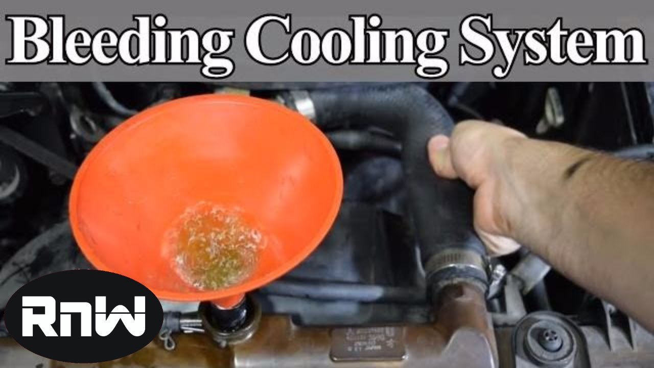 hight resolution of how to bleed air out of your car s cooling system diy method
