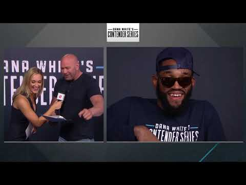 Dana White Announces Contender Series UFC Contract Winners - Week 9 | Season 3