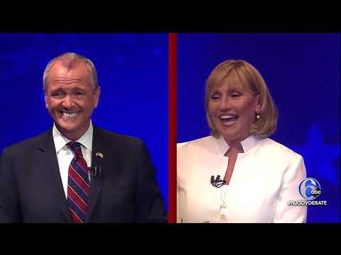 Kim Guadagno | Phil Murphy debate - 10/10/17