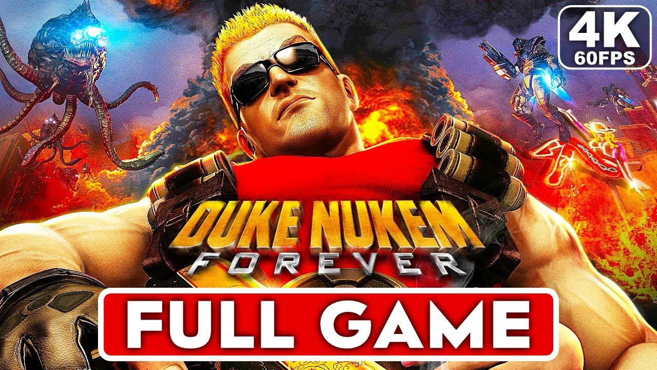 DUKE NUKEM FOREVER Gameplay Walkthrough Part 1 FULL GAME [4K 60FPS PC] - No Commentary