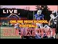Live stream : Lucas Christian Academy Vs. Greenville Christian || Texas High School Football 2019 ||