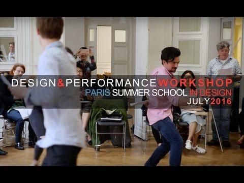 Design & Performance Workshop 2016  at The American University of Paris