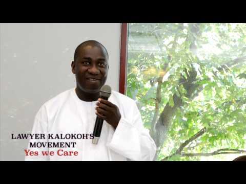 Lawyer Kalokoh's Movement