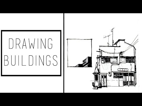 Drawing Buildings · 30 Ways to Fill a Sketchbook · SemiSkimmedMin