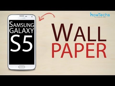 Samsung Galaxy S5 - How to change the wallpaper