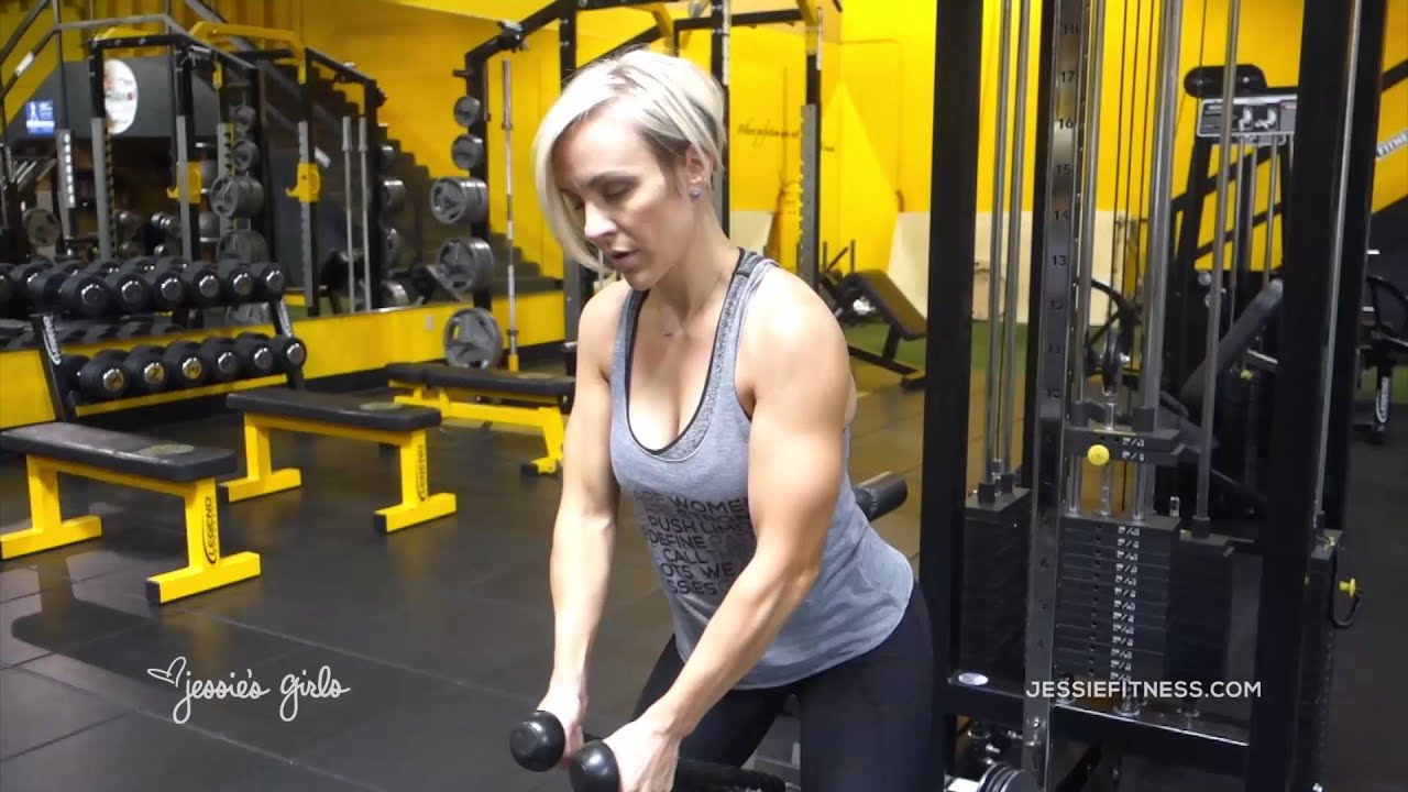 jessies girls training programs low cable front raises