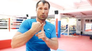 Как научиться бить боковые удары с нуля / Постановка удара на боксерском мешке