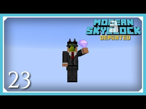 Modern Skyblock 3 Departed | Silent's Gems Chaos Gem & Flight Rune! | E23 (Modern Skyblock 3 Gated)