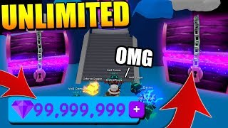 COME OTTENERE GEMS UNLIMITED IN BUBBLE GUM SIMULATOR! (Roblox)