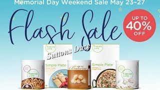 Thrive Life Memorial Day FLASH Sale Starts Tomorrow!