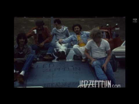 Led Zeppelin - Landover - RARE 8mm Film (1977)