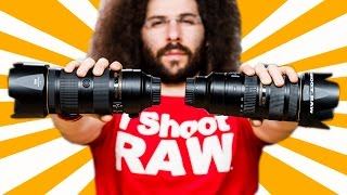Nikon 70-200 f/2.8E VR VS Nikon 70-200 f/2.8G VR II Lens Review / Comparison: We have a CLEAR WINNER