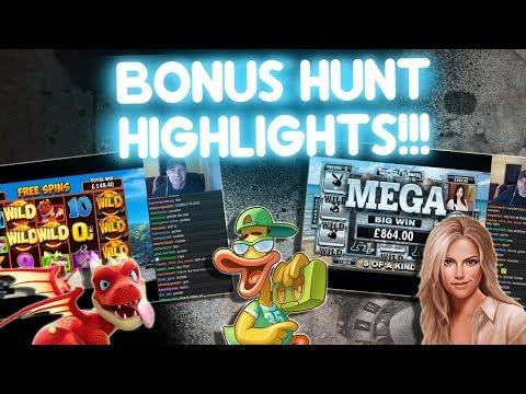 Bonus Hunt Highlights, 16 Bonuses!!!!