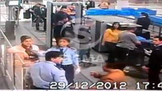 سفيرة مصر في قبرص تصفع شرطي حاول تفتيشها
