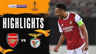 Arsenal 3-2 Benfica   Europa League 20/21 Match Highlights
