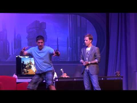 Star Wars Weekends 2014 Week 3 Stars of the Ray Park + John Ratzenberger