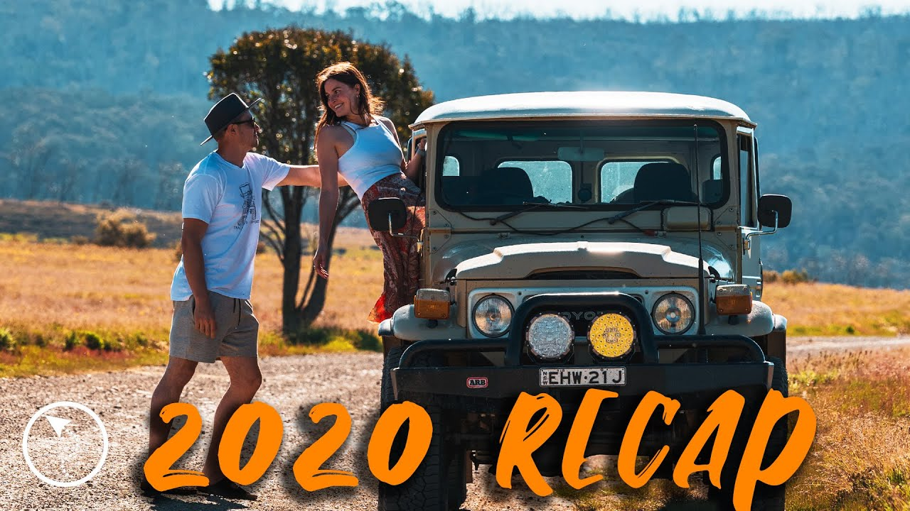 2020 in 2minutes and 20seconds - TROOPY RESTORATION, BORDER DASHES & LIVING IN THE OUTBACK