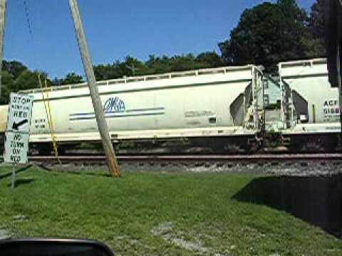 Freight train, Rutland, Vt.