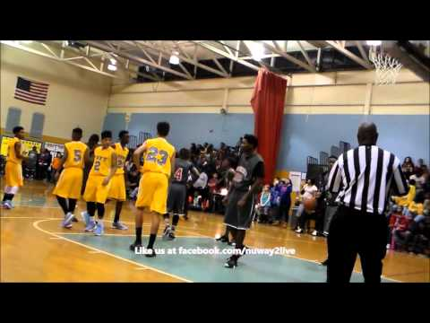 Fort vs Rothschild MS Boys Basketball Columbus, GA Part 2 of 2