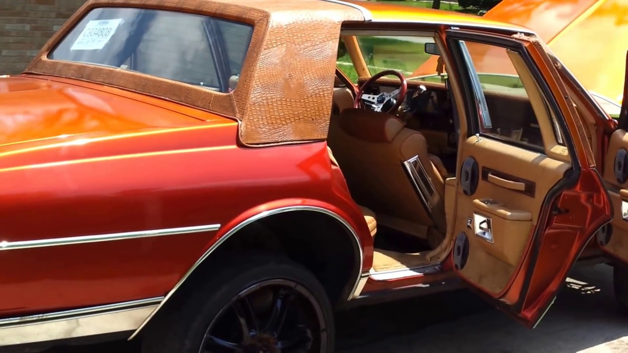 1987 Chevy Caprice Brougham Ls Candy Tangerine High
