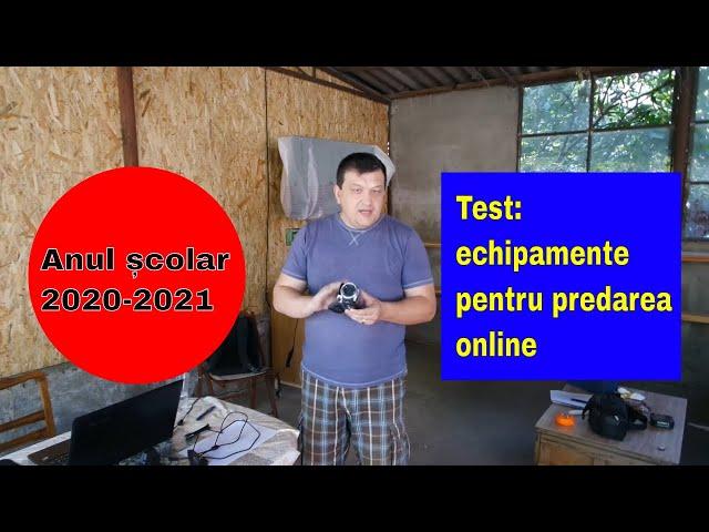 Covid 19 Echipamente pentru predarea online în sistem hibrid, România