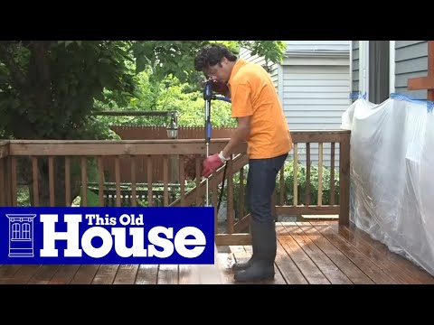 How To Restore A Deck | This Old House
