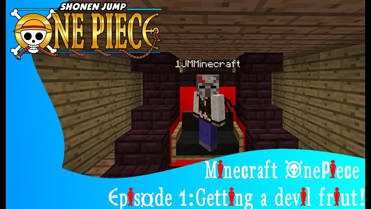 Fruit devil game - Minecraft One Piece Episode 1 Getting A Devil Fruit Role Play Discontinued New Series Coming Out