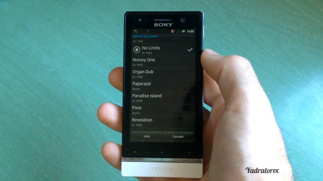 sony xperia u st25i ringtones youtube rh youtube com Sony Xperia Ion Sony Xperia Z Ultra