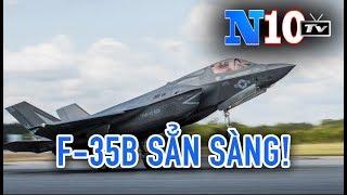 """Tin Nóng : Mỹ Triển Khai Máy Bay """"Mãnh Thú"""" F35B Đối Phó DF 26 """"Sát Thủ Mẫu Hạm"""" Của Trung Công."""