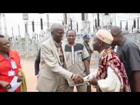 "BABATUNDE FASHOLA: ""...The only reason we don't have Power now is Vandalism..."""