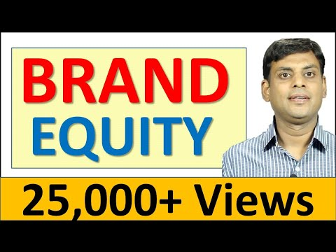 Brand Equity - Marketing Management Video Lecture By Prof. Vijay Prakash Anand